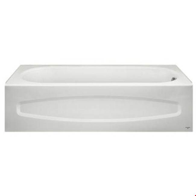 American Standard Canada Three Wall Alcove Soaking Tubs item 0182S00.020