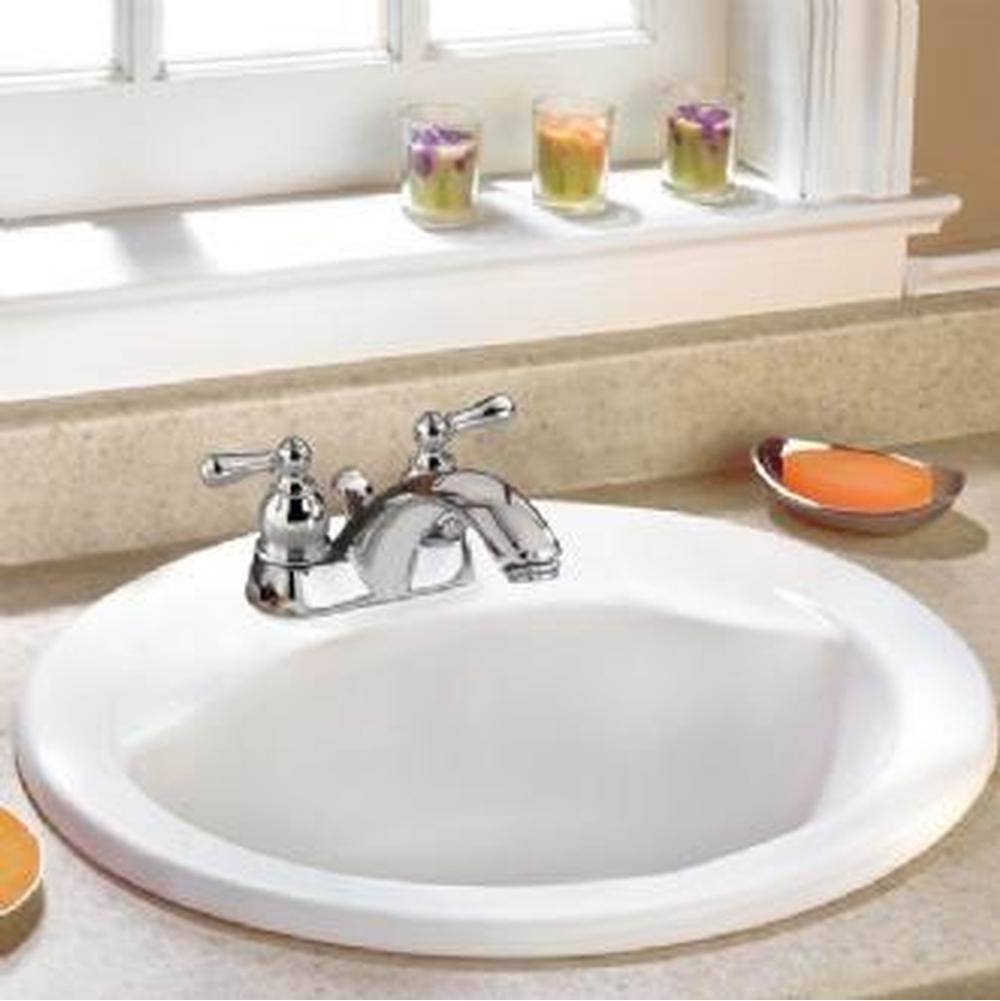 American Standard Canada Drop In Bathroom Sinks item 0419111EC.020