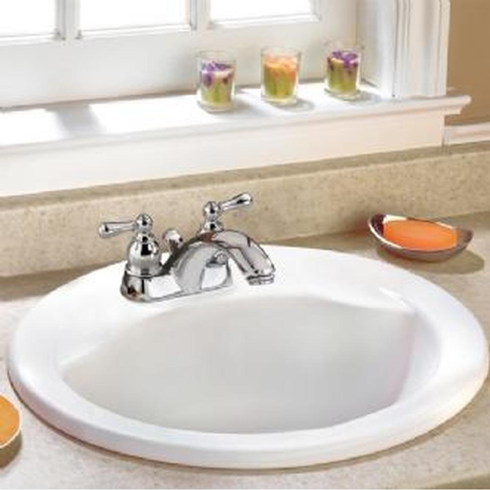 American Standard Canada Drop In Bathroom Sinks item 0419444EC.020