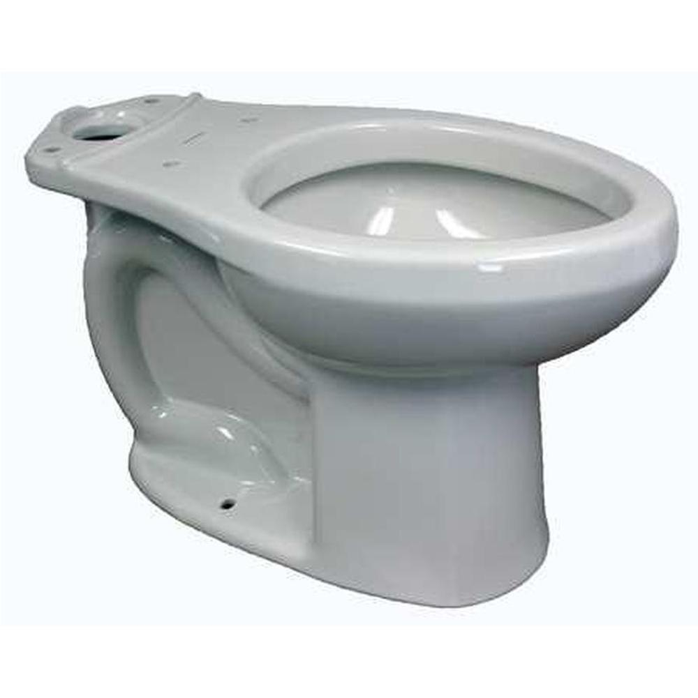 AMERICAN STANDARD 3701001.020 Elongated Floor Mount Toilet Bowl 1.1 to 1.6 gpf