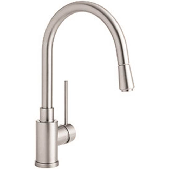 classic stainless steel single hole kitchen faucets msrp