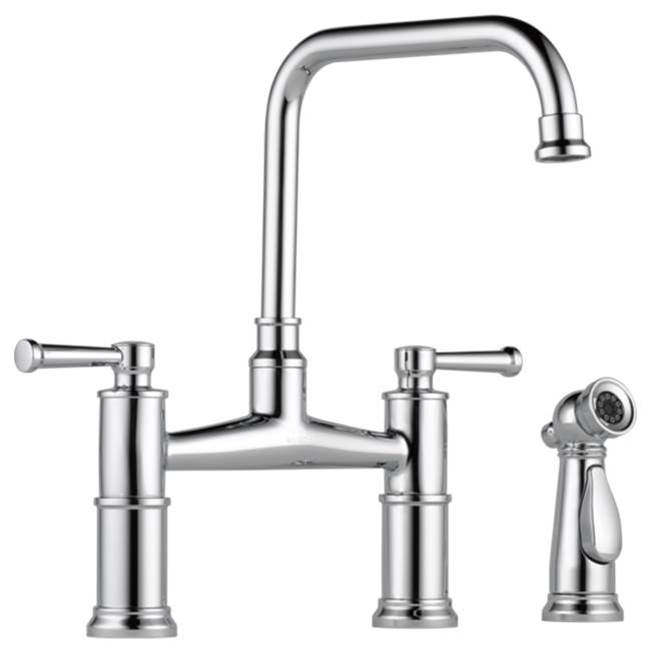 Brizo Canada Bridge Kitchen Faucets item 62525LF-PC