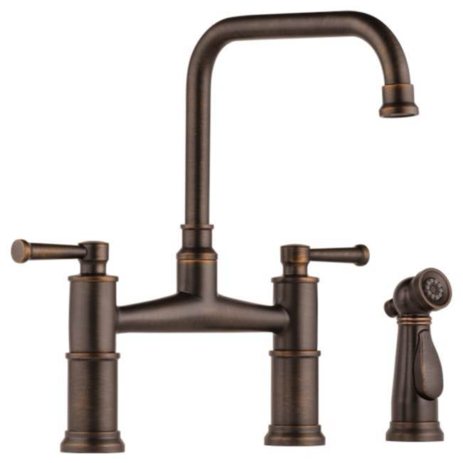 Brizo Canada Deck Mount Kitchen Faucets item 62525LF-RB