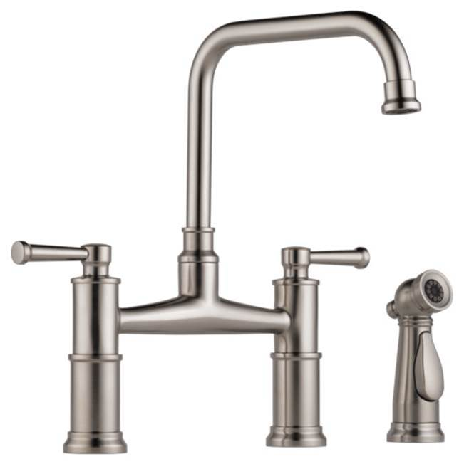 Brizo Canada Bridge Kitchen Faucets item 62525LF-SS