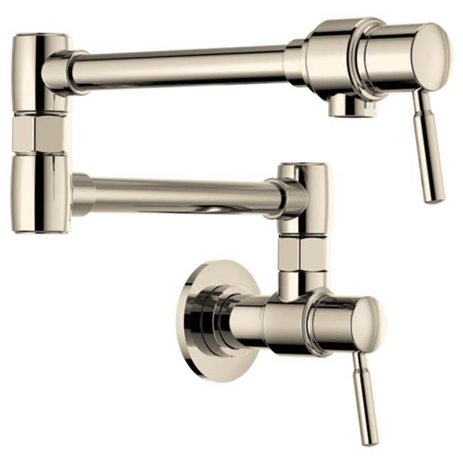 Brizo Canada Wall Mount Pot Filler Faucets item 62820LF-PN