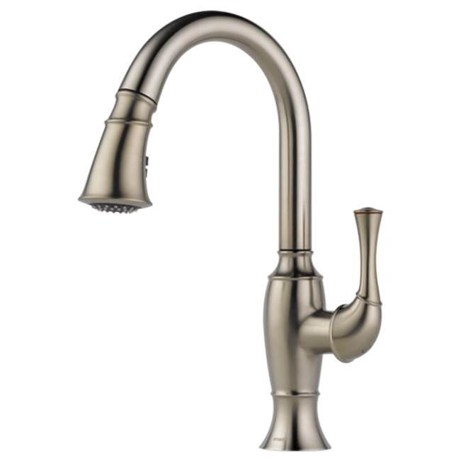 Brizo Canada Single Hole Kitchen Faucets item 63003LF-SS