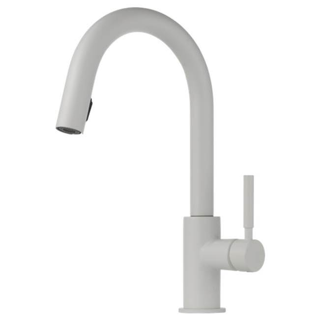Brizo Canada Single Hole Kitchen Faucets item 63020LF-MW