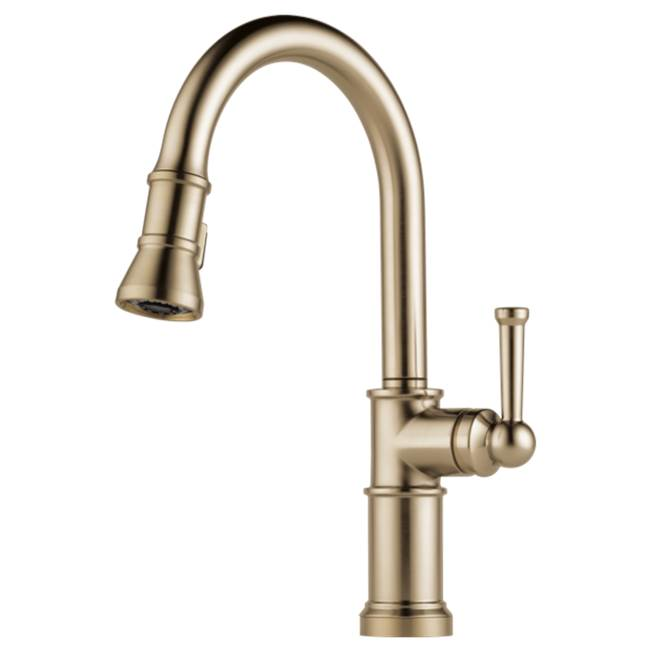 Brizo Canada Pull Down Faucet Kitchen Faucets item 63025LF-GL