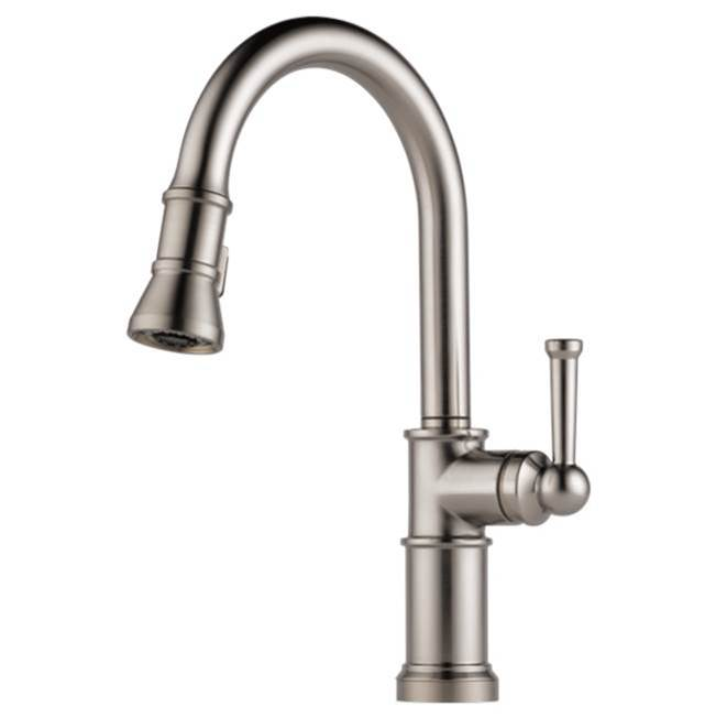 Brizo Canada Single Hole Kitchen Faucets item 63025LF-SS