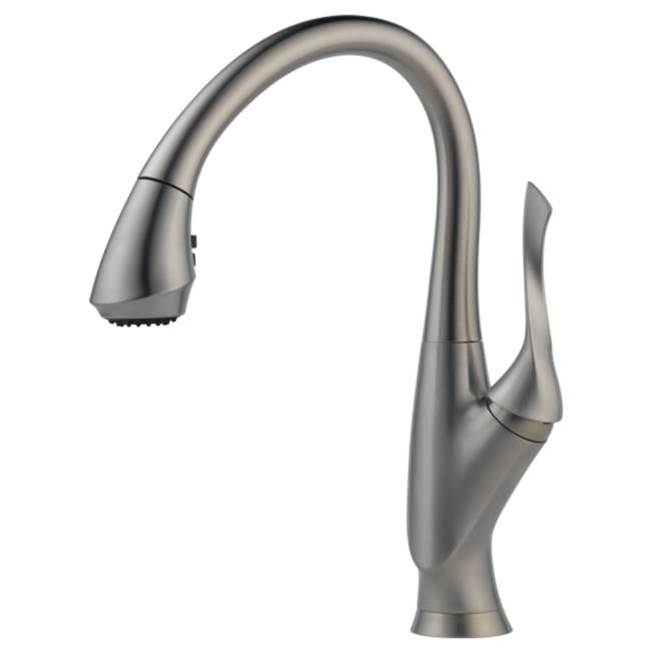 Brizo Canada Single Hole Kitchen Faucets item 63052LF-SS