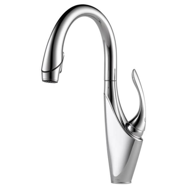Brizo Canada Single Hole Kitchen Faucets item 63055LF-PC
