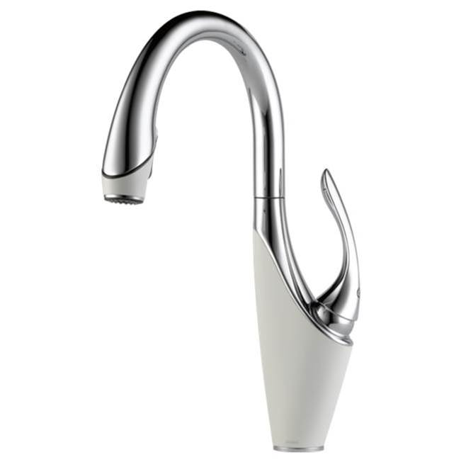 Brizo Canada Single Hole Kitchen Faucets item 63055LF-PCMW