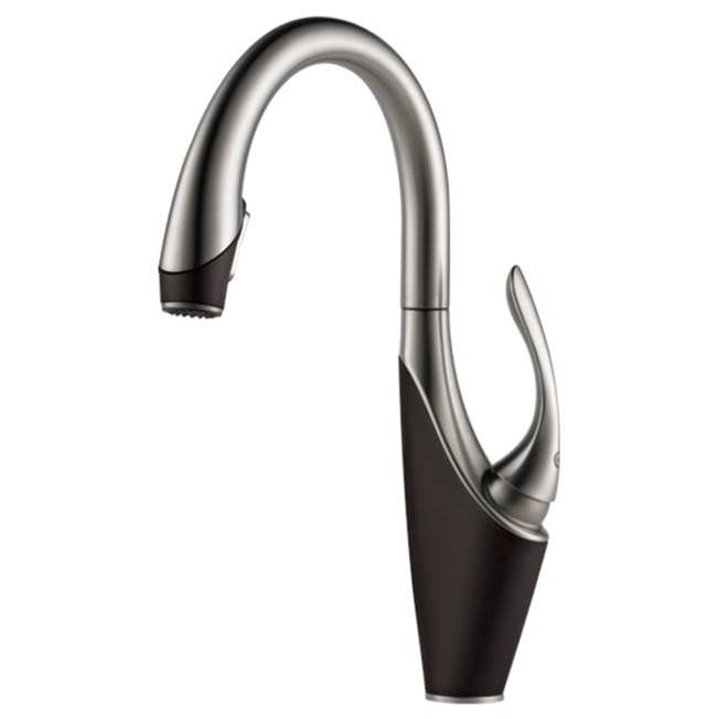 Brizo Canada Single Hole Kitchen Faucets item 63055LF-SSCO