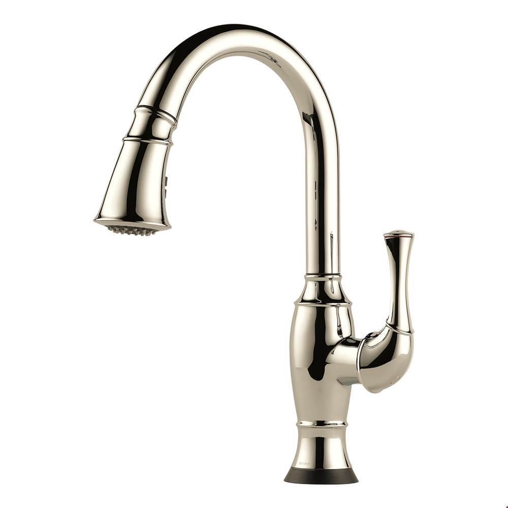 Brizo Canada Single Hole Kitchen Faucets item 64003LF-PN