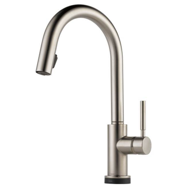 Brizo Canada Single Hole Kitchen Faucets item 64020LF-SS