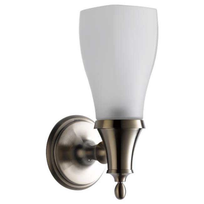 Brizo Canada One Light Vanity Bathroom Lights item 697085-BN