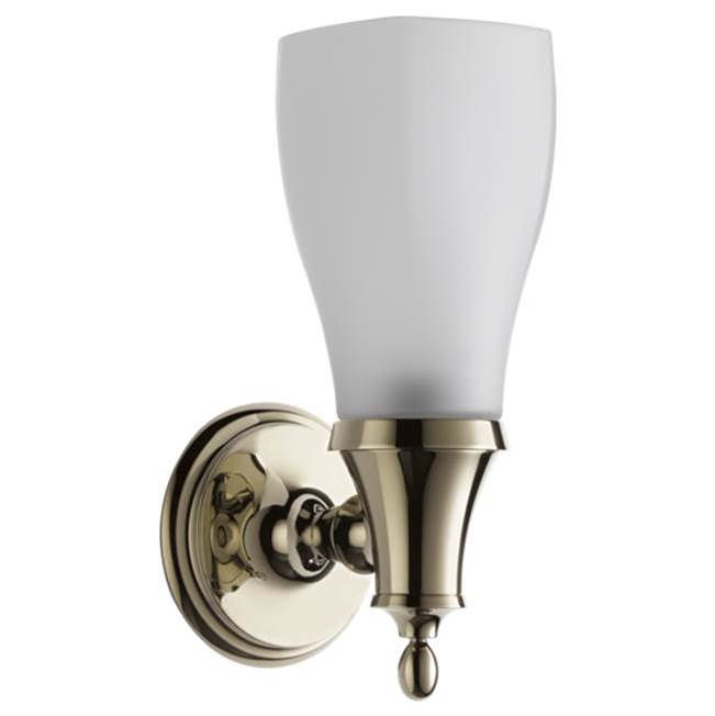 Brizo Canada One Light Vanity Bathroom Lights item 697085-PN