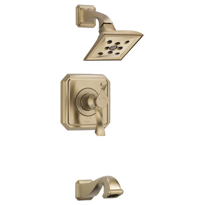 Brizo Canada Thermostatic Valve Trims With Integrated Diverter Shower Faucet Trims item T60430-GL