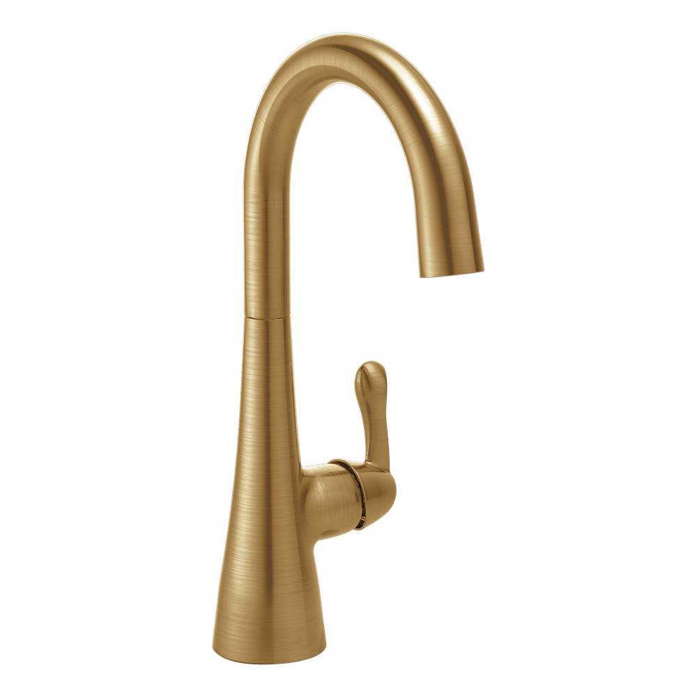 Delta Canada 1953lf Cz At Bathworks Showrooms None Bar Sink Faucets In A Decorative Champagne