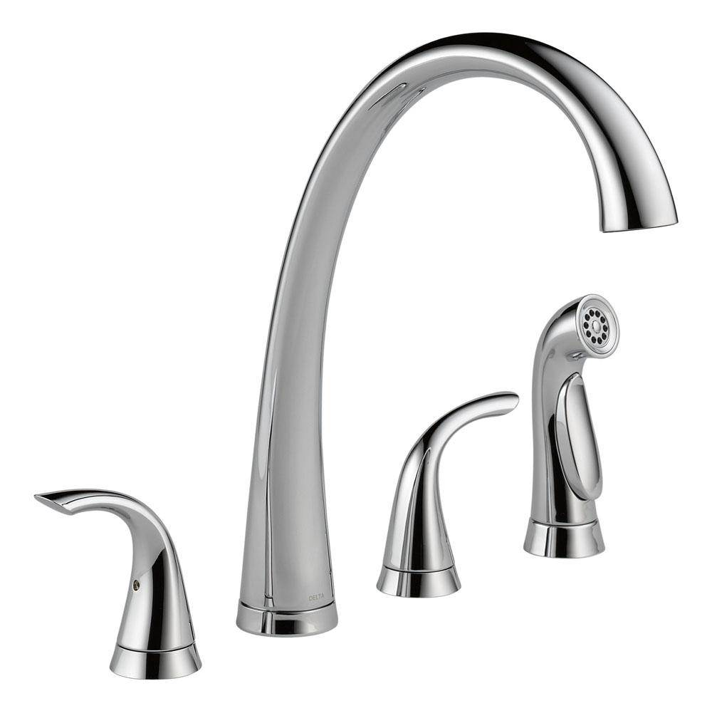 Delta Canada Deck Mount Kitchen Faucets item 2480-DST