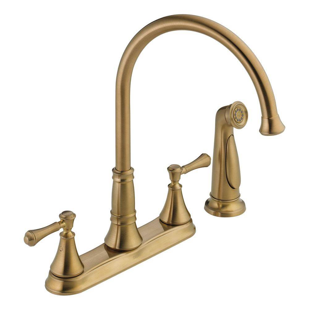 Delta Canada Deck Mount Kitchen Faucets item 2497LF-CZ