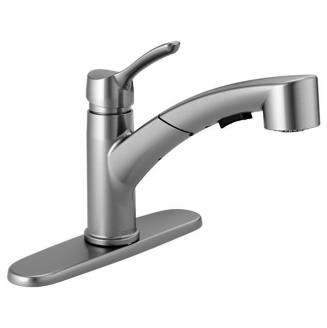 Delta Canada Single Hole Kitchen Faucets item 4140-AR-DST