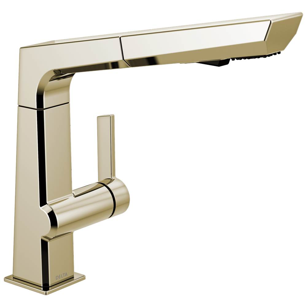 Delta Canada Retractable Faucets Kitchen Faucets item 4193-PN-DST