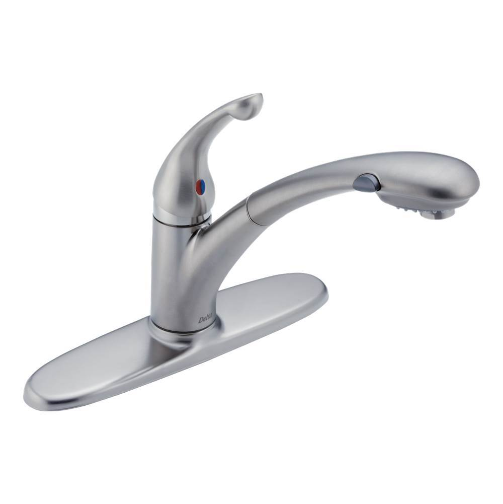 Delta Canada Single Hole Kitchen Faucets item 470-ARWE-DST