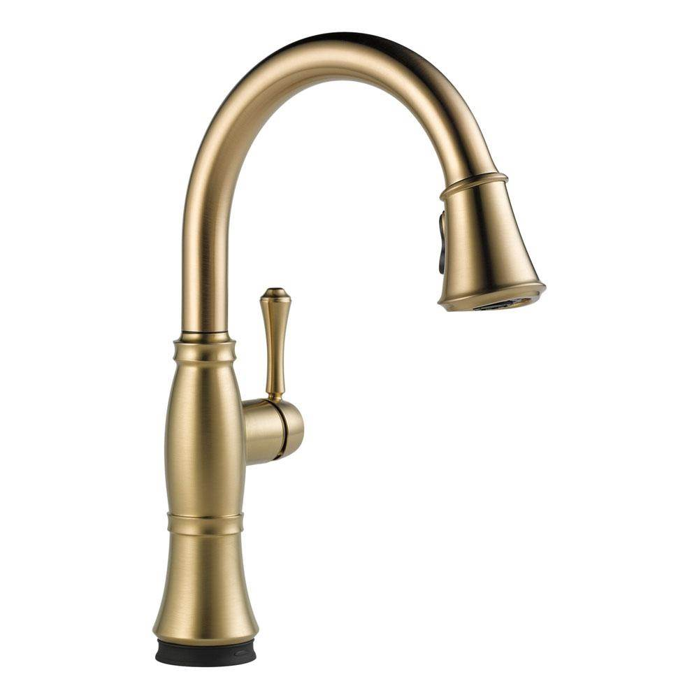 Delta Canada Single Hole Kitchen Faucets item 9197T-CZ-DST