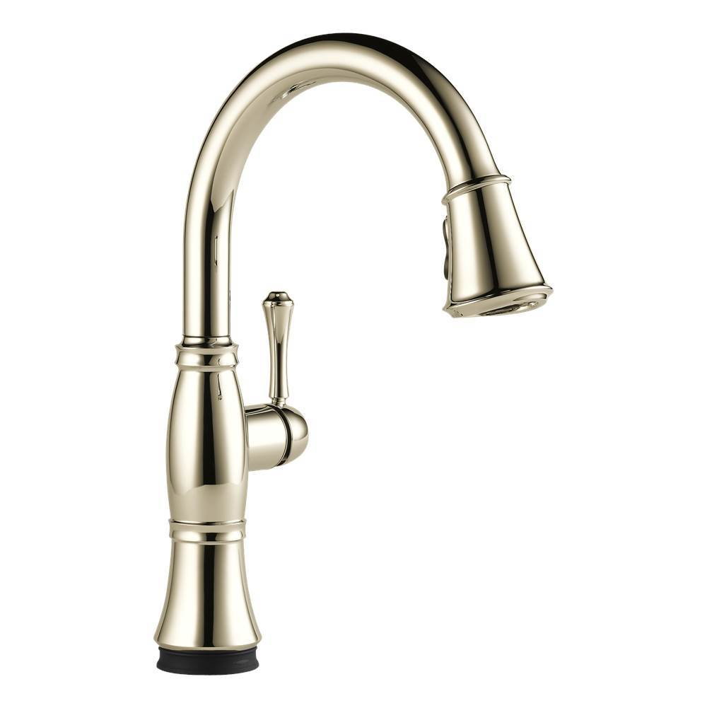 Delta Canada Single Hole Kitchen Faucets item 9197T-PN-DST