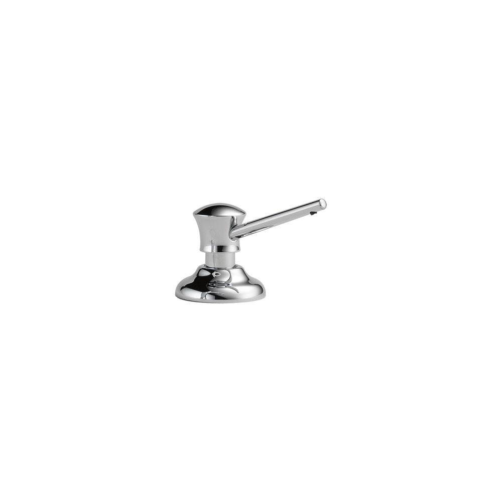Delta 755 pt aged pewter single handle centerset bathroom faucet less - For