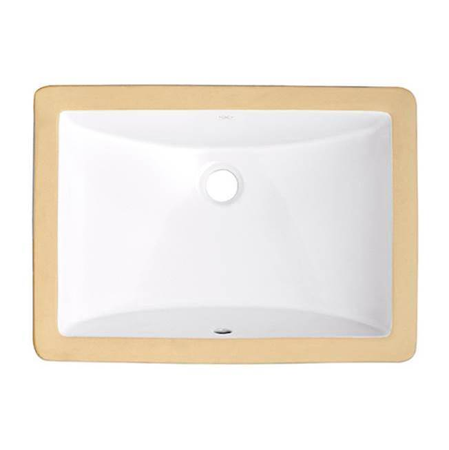 DXV Undermount Bathroom Sinks item D00614000.415