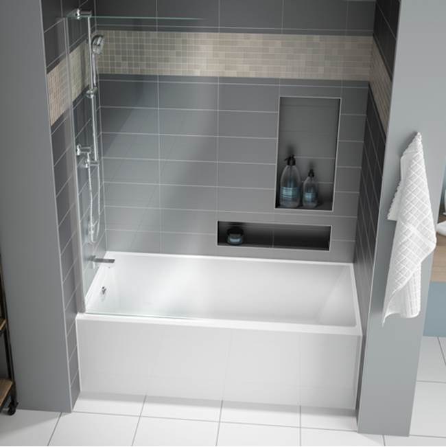 Fleurco Canada Three Wall Alcove Soaking Tubs item BMU6030L-18