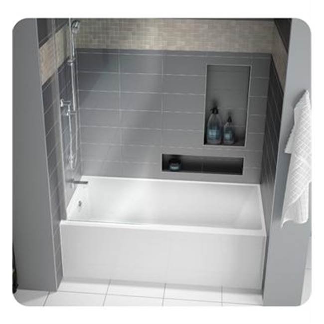 Fleurco Canada Three Wall Alcove Soaking Tubs item BMU6032L-18
