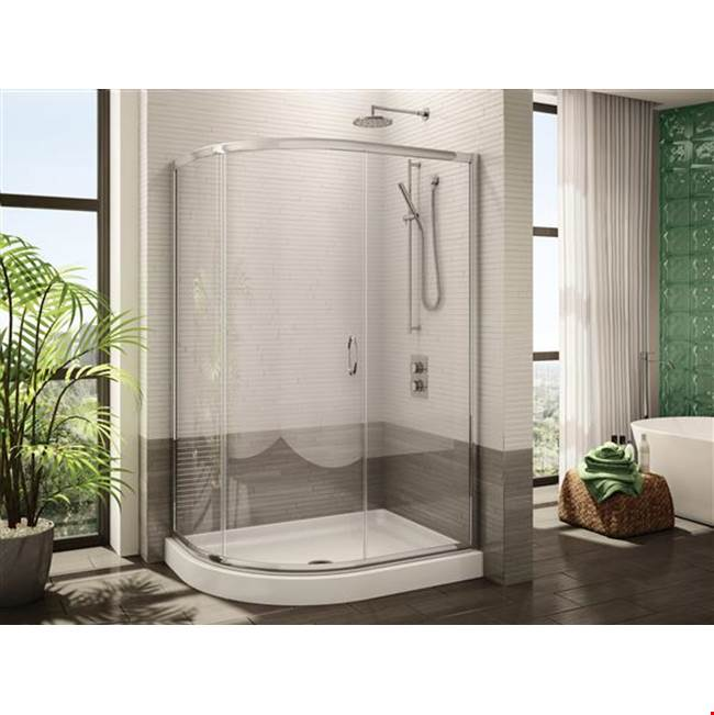 Fleurco Canada Corner Shower Doors item FA483-11-65