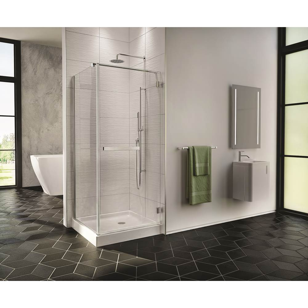 Fleurco Canada Corner Shower Doors item PJC3636-25-40