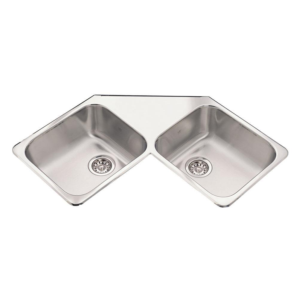 Kindred Canada Drop In Kitchen Sinks item QCR/8/4