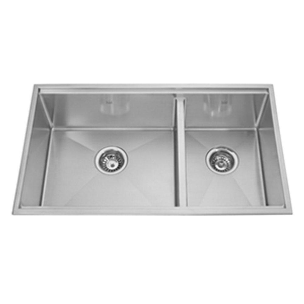 Kindred Canada Drop In Kitchen Sinks item KCC33R/9-10A
