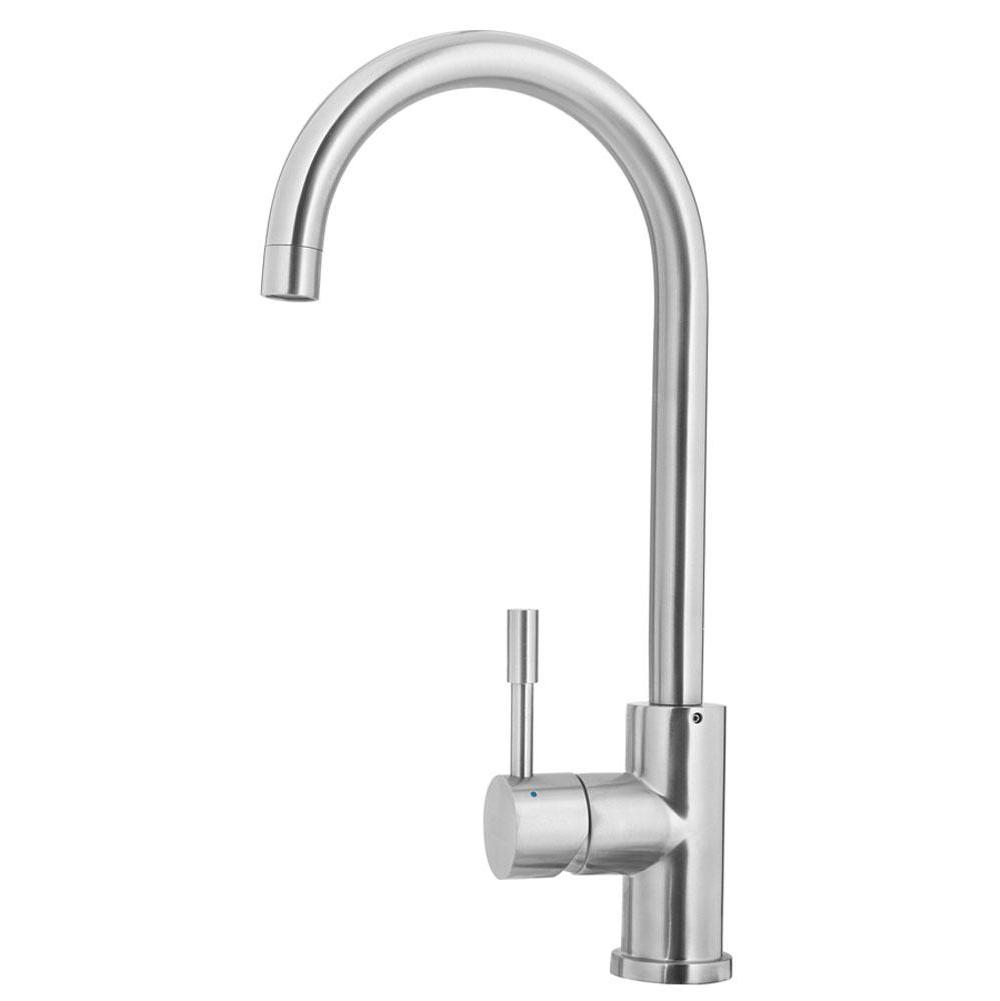 Gooseneck Faucet Kitchen | Kindred Canada Kitchen Faucets Kitchen Faucets Bathworks Showrooms