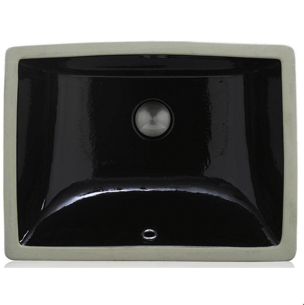 Lenova Canada Undermount Bathroom Sinks item PU-03-BK