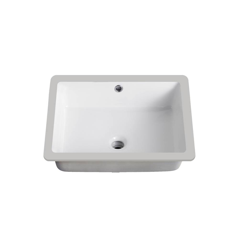 Lenova Canada Undermount Bathroom Sinks item PU-06W