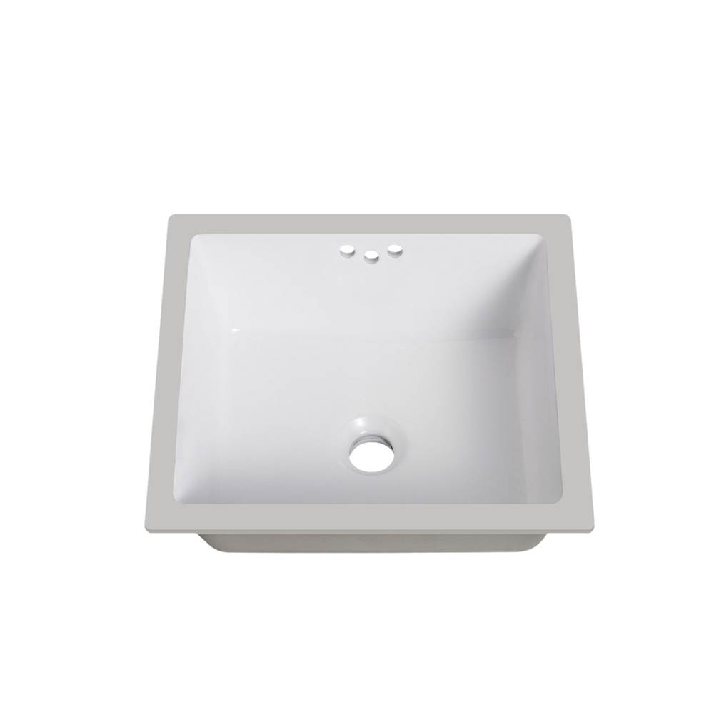 Lenova Canada Undermount Bathroom Sinks item PU-07W