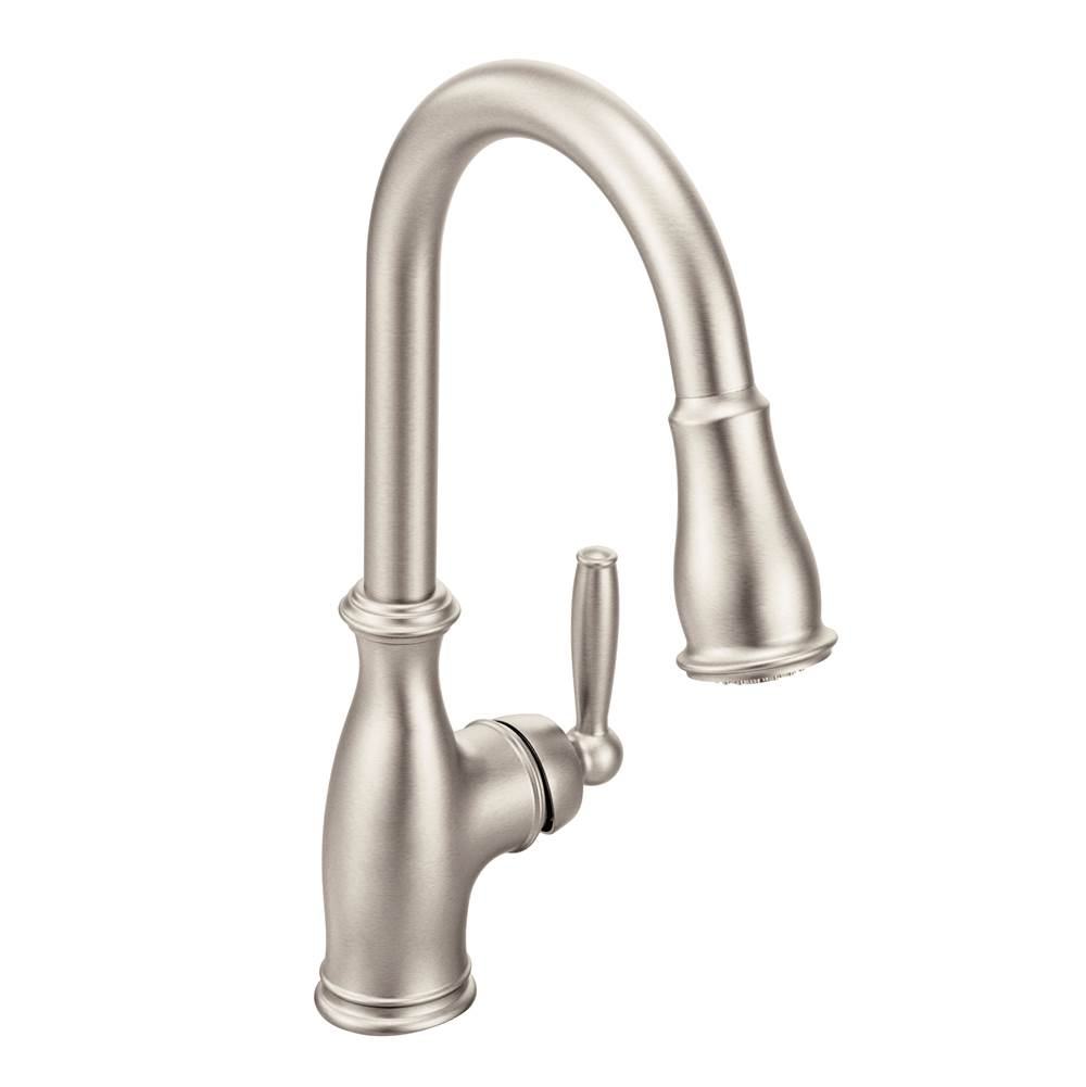 Moen Canada Single Hole Kitchen Faucets item 7185SRS