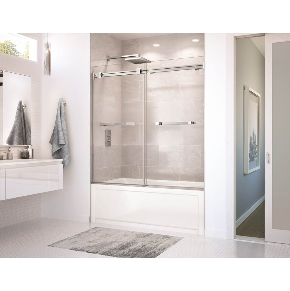 sliding gemini fleurco doors bypass products frameless tub plus