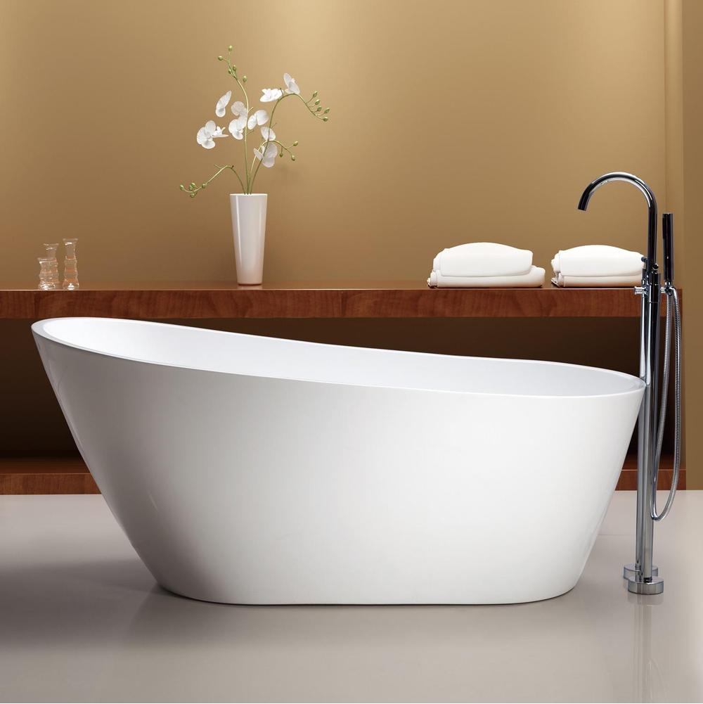 inch freestanding morris tub faucet bathtub drillings acrylic bathtubs slipper rooms randolph no