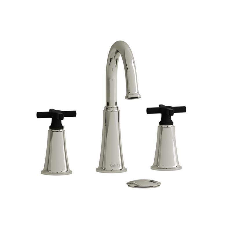 Riobel Widespread Bathroom Sink Faucets item MMRD08+PNBK