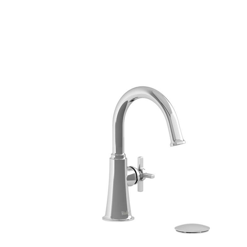 Riobel Single Hole Bathroom Sink Faucets item MMRDS01+CBK-05