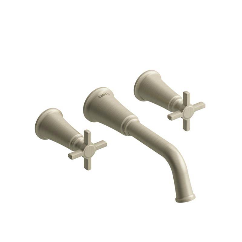 Riobel Wall Mount Tub Fillers item MMSQ05+BN