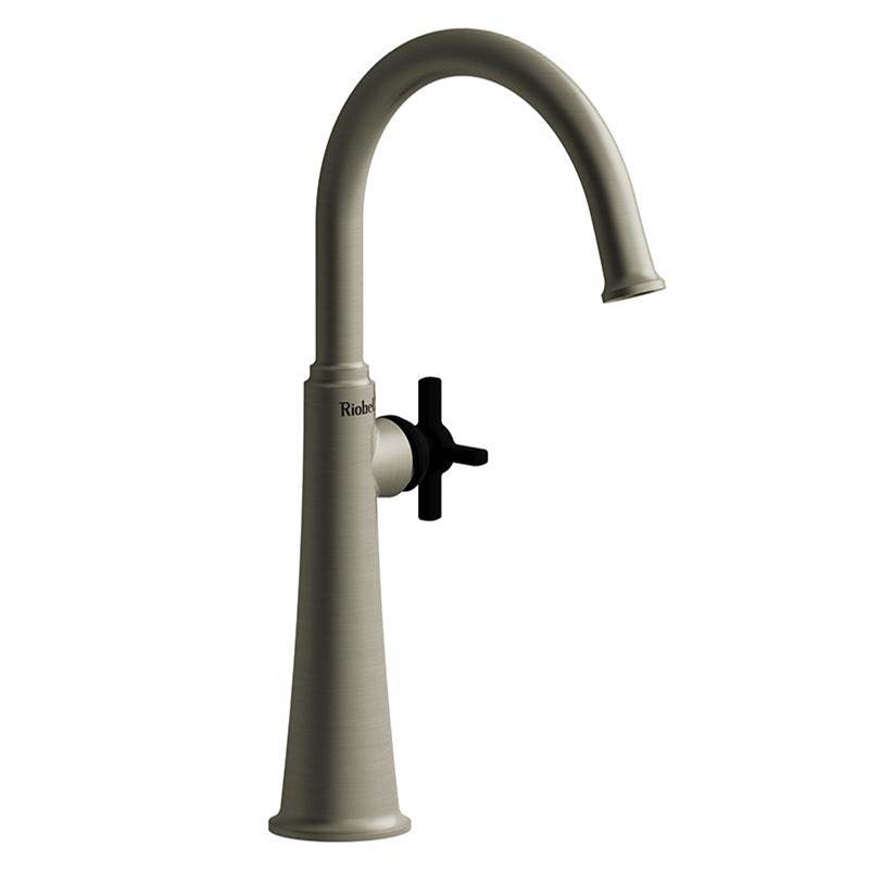 Riobel Single Hole Bathroom Sink Faucets item MMRDL01+BNBK