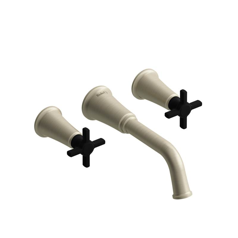 Riobel Wall Mount Tub Fillers item MMSQ05+BNBK